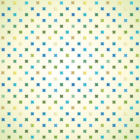 Vector seamless background. Cross stitching texture pattern.