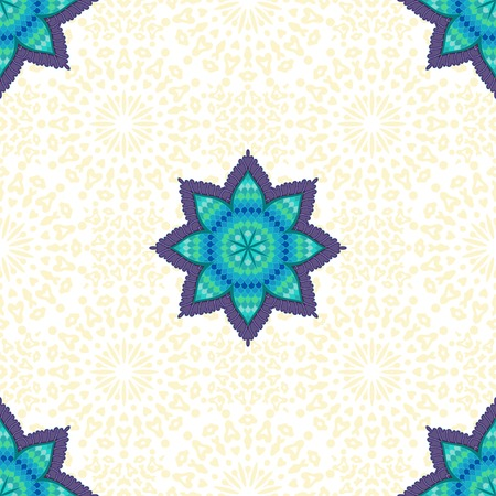 Vector floral seamless background. Patten in oriental style and delicate backdrop.