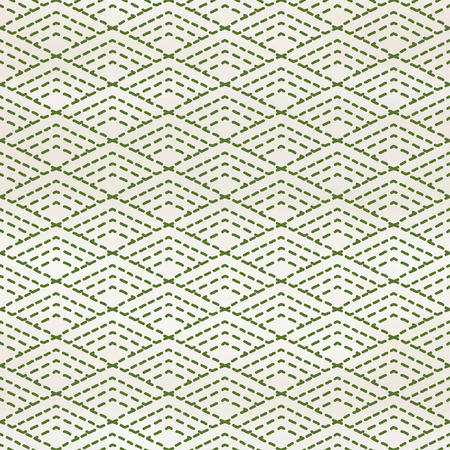 Seamless vector background with rhombic pattern of stitches. Embroidery Sachiko. Hand drawing watercolor backdrop. Illustration