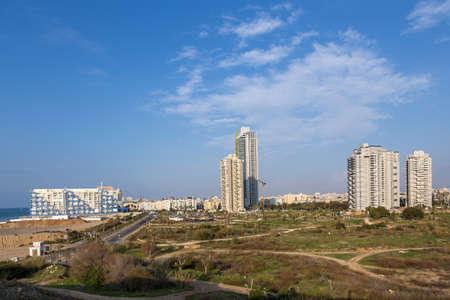 yam israel: Bat-Yam City  Panoramic view    Israel
