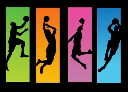 canestro basket: Giocatori di basket
