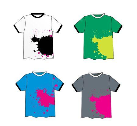 Grunge stylish t-shirt design vector photo
