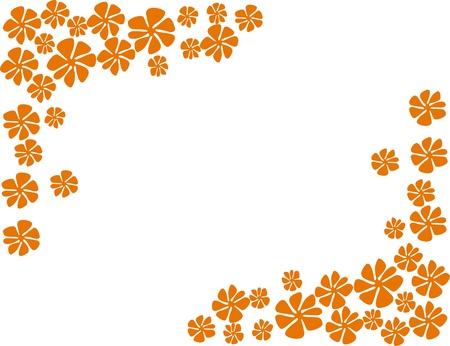 colorful spring flowers vector illustration Stock Illustration - 10564849