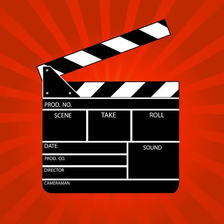 clap: Movie clapper board