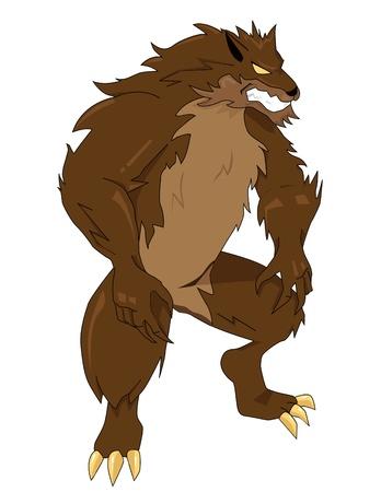 loup garou: Loup-garou  Banque d'images