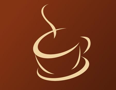 kopje koffie en rook