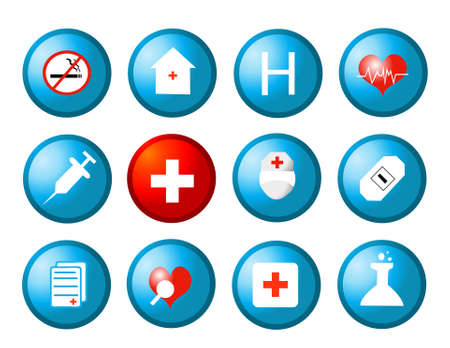 medical icons vector illustration Stock Vector - 10799937