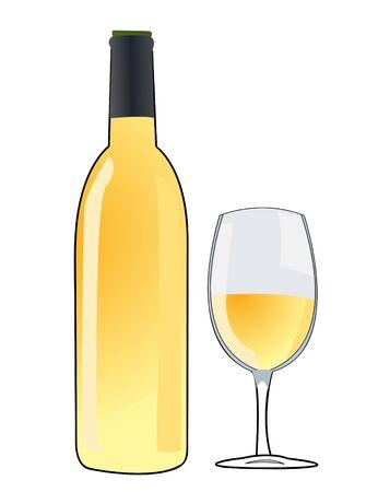 wine vector Stock Vector - 10799923