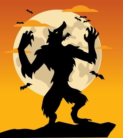 Weerwolf Stockfoto - 10874994
