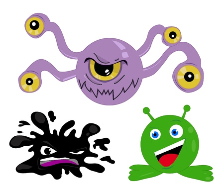 Monster and Character Set Stock Vector - 10874992