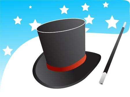 Magic hat vector Vector