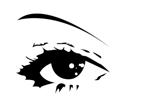 vector eye  Stock Vector - 11386645