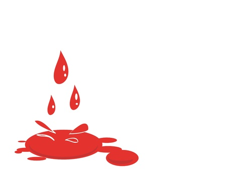 blood splat Illustration