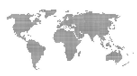 zone: World map