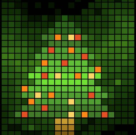 christmas background vector illustration Stock Vector - 11386670