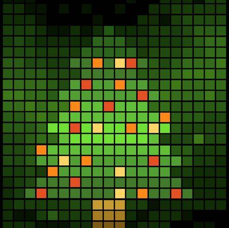 christmas background vector illustration Stock Vector - 11386670