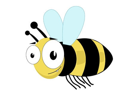 Cute bee  Stock Vector - 12035129