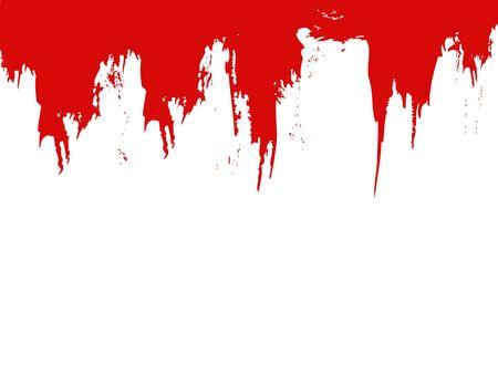 blood splatter: blood splat vector illustration