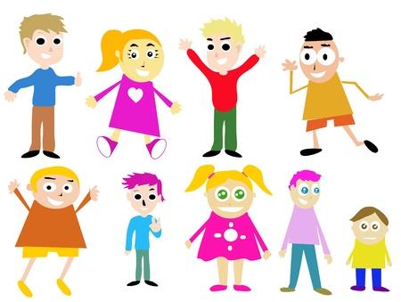kids cartoon Vector