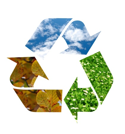 Recycle Symbool Stockfoto - 13329201