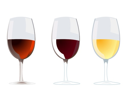 wine vector Stock Vector - 13737634