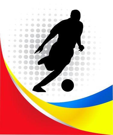 soccer player Stock Vector - 13878938