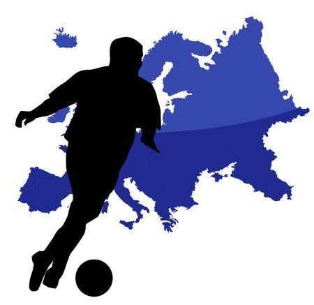 playoff: soccer player