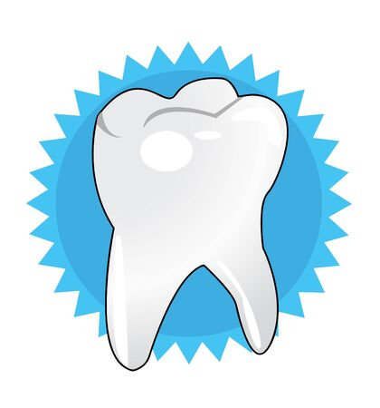 Vector illustration of white tooth Stock Vector - 14347924