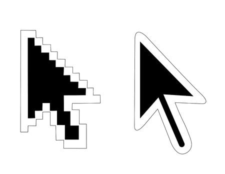 clique: mouse pointers arrow