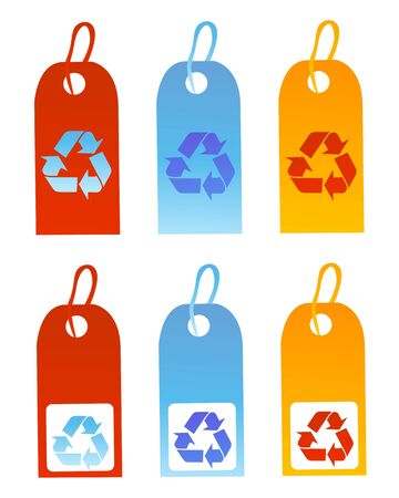 utilize: Recycle signs vector illustration   Illustration