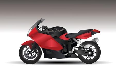 motorcycle   イラスト・ベクター素材