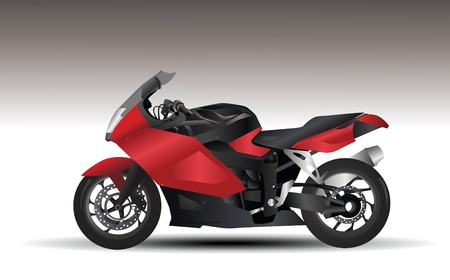 motorcycle  Stock Illustratie