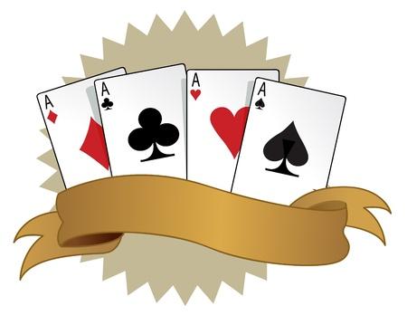gambler: retro card suits