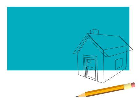 house Stock Vector - 15129948