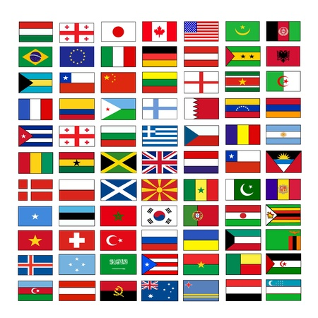 flags Stock Vector - 15863443