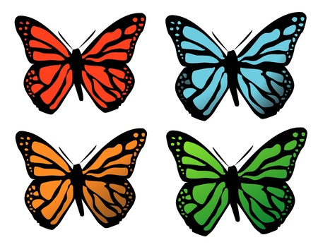background with butterfly Stock Vector - 17209268
