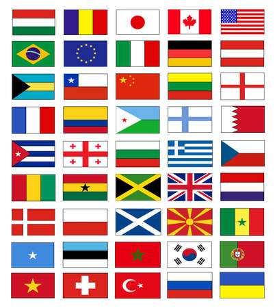 flags Stock Vector - 17209346