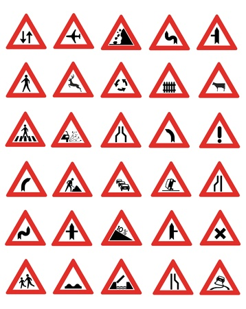 Road Signs Stock Vector - 17345033