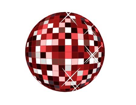 retro disco ball,vector illustration Stock Vector - 18555296