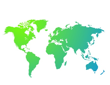 global market: World map