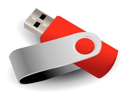 mass storage: flash drive
