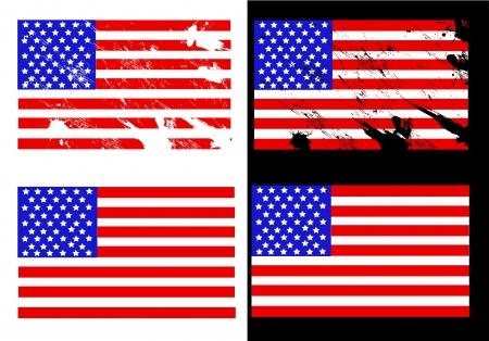 scalable: Illustration United States flag