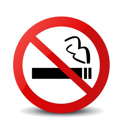 No Smoking Sign  Stock Vector - 20929200
