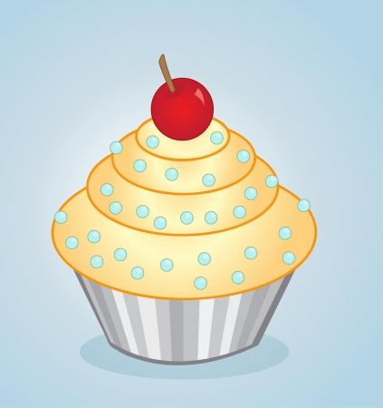 fairycake: vector cupcake