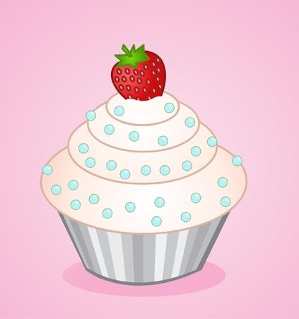 vector cupcake  Vector