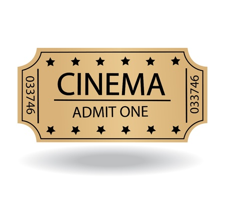 cinema tickets Stock Vector - 21863027