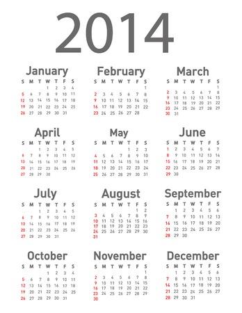 calendario noviembre: 2014 calendario