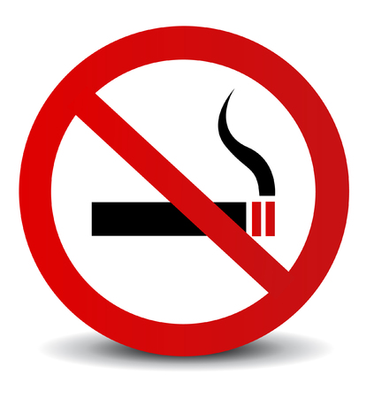 exclude: No Smoking Sign  Illustration
