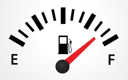 Illustration réservoir de gaz