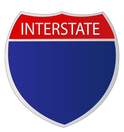 motorists: Interstate Sign